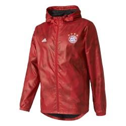 Coupe Vent Bayern Munich Rouge losange