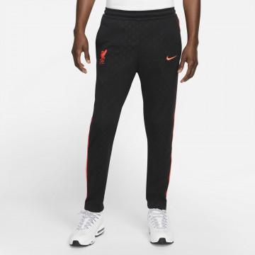 Pantalon survêtement Liverpool N98 noir rouge 2021/22