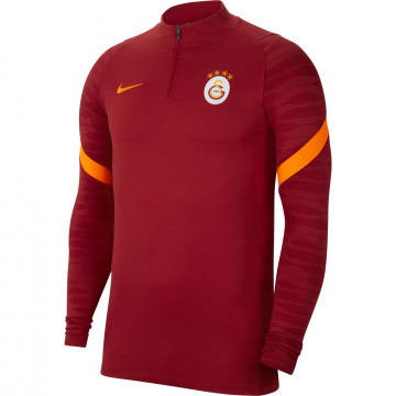Sweat zippé Galatasaray rouge 2021/22