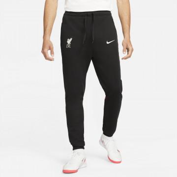 Pantalon survêtement Liverpool Fleece noir 2021/22