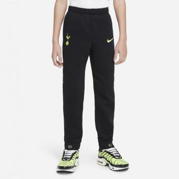 Pantalon survêtement junior Tottenham noir jaune 2021/22