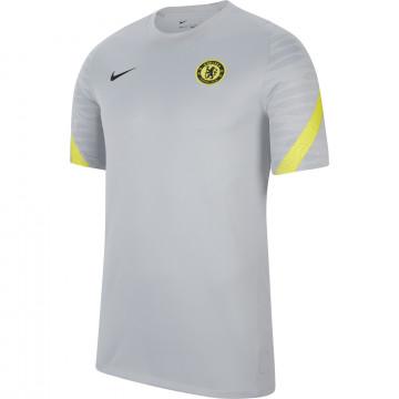 Maillot entraînement Chelsea gris jaune 2021/22