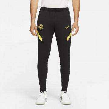 Pantalon survêtement Chelsea noir jaune 2021/22