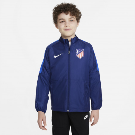 Veste imperméable junior Atlético Madrid bleu 2021/22