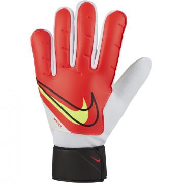 Gants gardien Nike Match rouge jaune