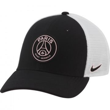 Casquette PSG Arobill noir blanc 2021/22