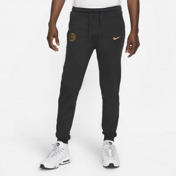 Pantalon survêtement Inter Milan Fleece noir or 2021/22