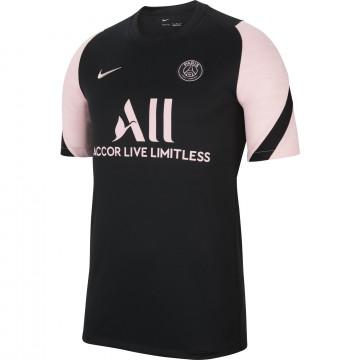 Maillot entraînement PSG noir rose 2021/22