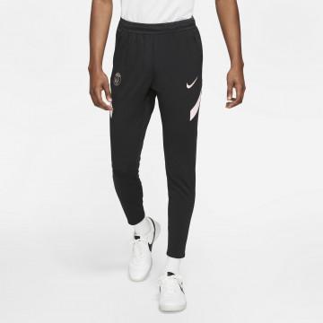 Pantalon survêtement PSG noir rose 2021/22
