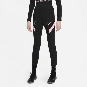 Pantalon survêtement junior PSG Strike noir rose 2021/22