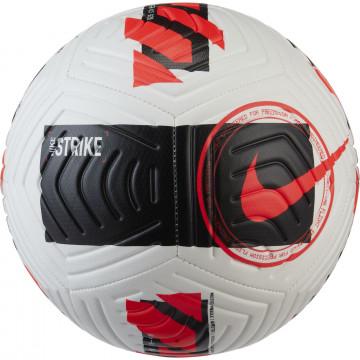 Ballon Nike Strike blanc rouge