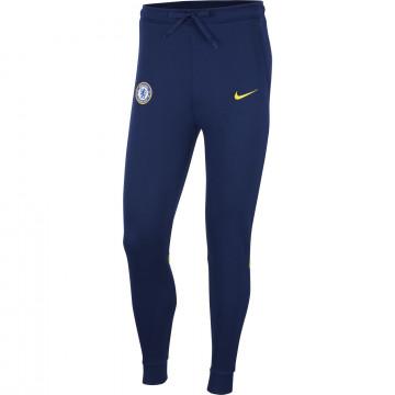 Pantalon survêtement Chelsea Fleece bleu jaune 2021/22