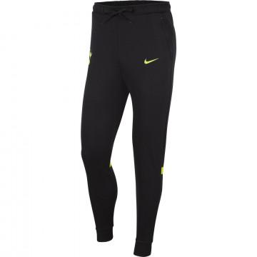 Pantalon survêtement Tottenham Fleece noir jaune 2021/22