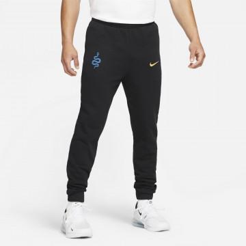 Pantalon survêtement Inter Milan Fleece noir bleu 2021/22