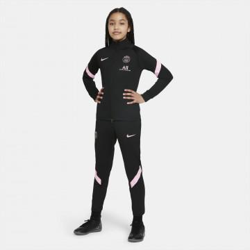 Ensemble survêtement junior PSG noir rose 2021/22