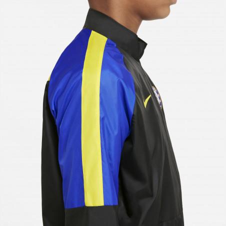 Veste imperméable junior Chelsea noir bleu 2021/22