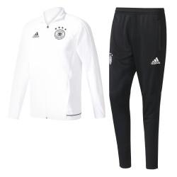 Ensemble Survêtement Allemagne Blanc et Noir DFB 2017