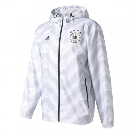 Coupe Vent Allemagne Blanc Adidas Pas Cher sur