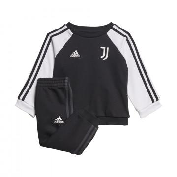 Ensemble survêtement bébé Juventus molleton noir blanc 2021/22