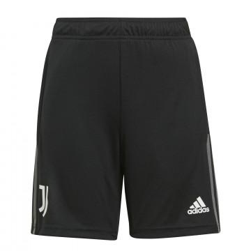 Short entraînement junior Juventus noir gris 2021/22