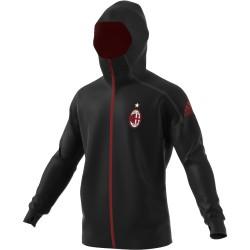 Veste Milan AC Anthem noir 2016 - 2017