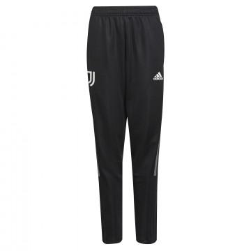 Pantalon survêtement junior Juventus noir blanc 2021/22