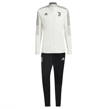 Ensemble survêtement Juventus blanc noir 2021/22