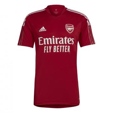 Maillot entraînement Arsenal rouge 2021/22