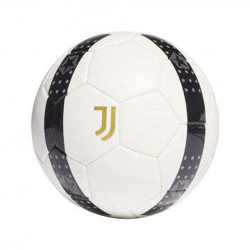 Mini ballon Juventus blanc noir 2021/22