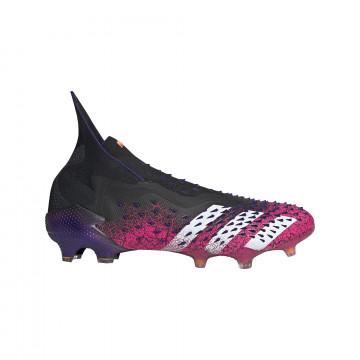 adidas Predator Freak+ montante FG noir rose