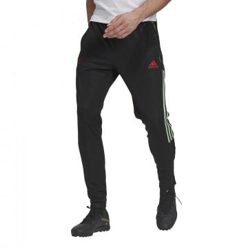 Pantalon survêtement Manchester United noir vert 2020/21