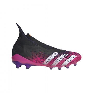 adidas Predator Freak+ montante AG noir rose