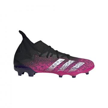 adidas Predator Freak.3 montante FG noir rose