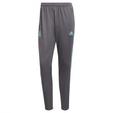 Pantalon survêtement Real Madrid gris bleu 2020/21