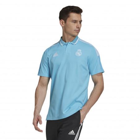 Polo Real Madrid bleu 2020/21
