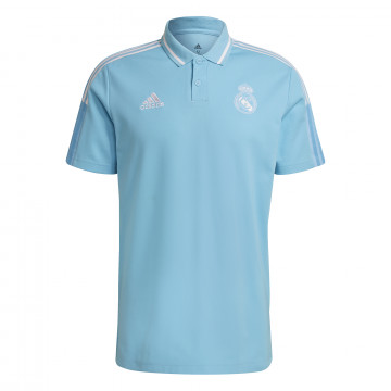 Polo Real Madrid bleu 2020/21