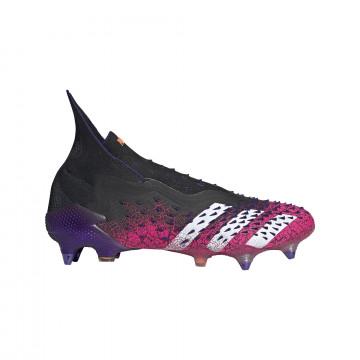 adidas Predator Freak+ montante SG noir rose