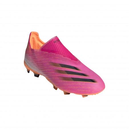 adidas X GHOSTED+ junior FG rose orange