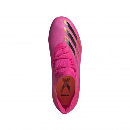 adidas X GHOSTED.1 junior FG rose orange