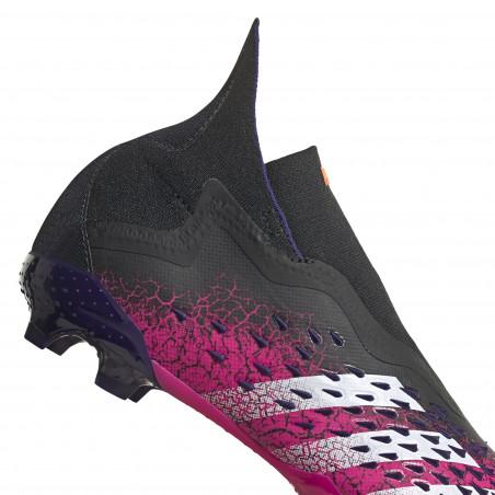 adidas Predator Freak+ montante junior FG noir rose