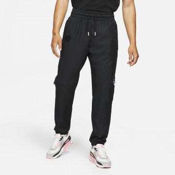 Pantalon survêtement PSG Woven noir rose 2021/22