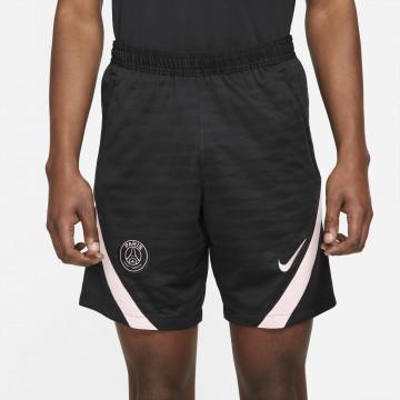 Short entraînement PSG noir rose 2021/22