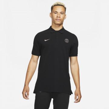Polo PSG noir rose 2021/22