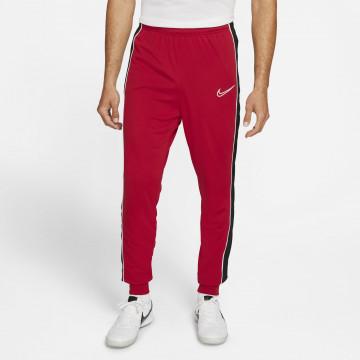 Pantalon survêtement Nike Academy rouge noir