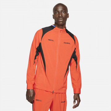 Veste survêtement Nike F.C. Joga Bonito orange 2021/22
