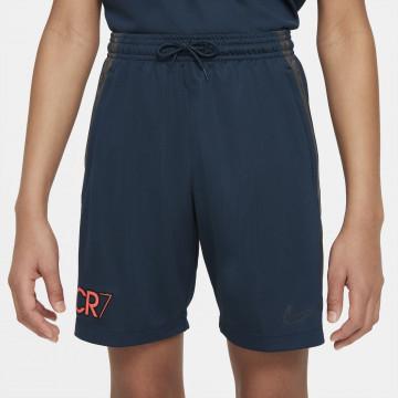 Short entraînement junior Nike CR7 bleu rouge
