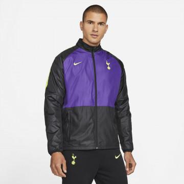 Veste imperméable Tottenham noir violet 2021/22