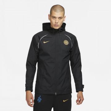 Coupe vent Inter Milan noir or 2021/22