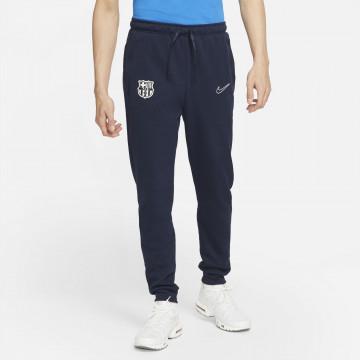 Pantalon survêtement FC Barcelone Fleece bleu 2021/22