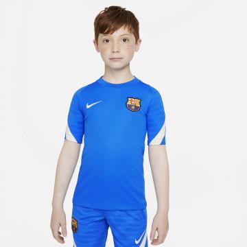 Maillot entraînement junior FC Barcelone Strike bleu 2021/22
